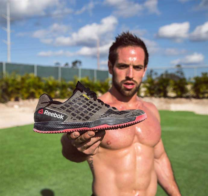 Rich Froning Reebok Crossfit Compete 6:14 Shoe
