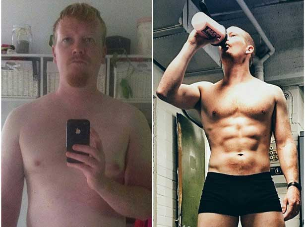 Crossfit Before And After Male