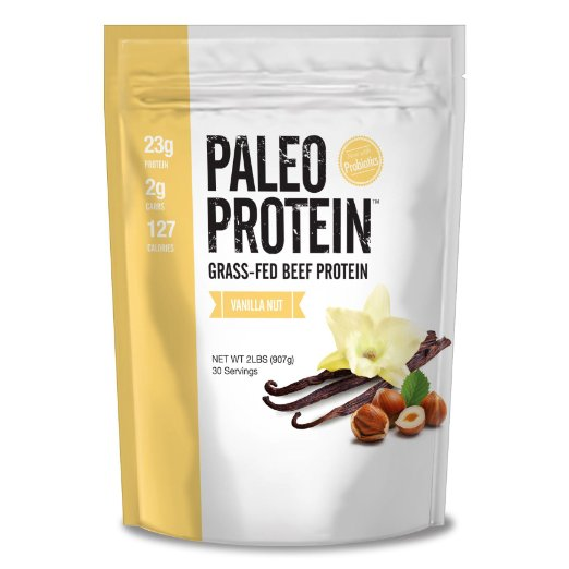 Paleo Grass-Fed Beef Protein Powder